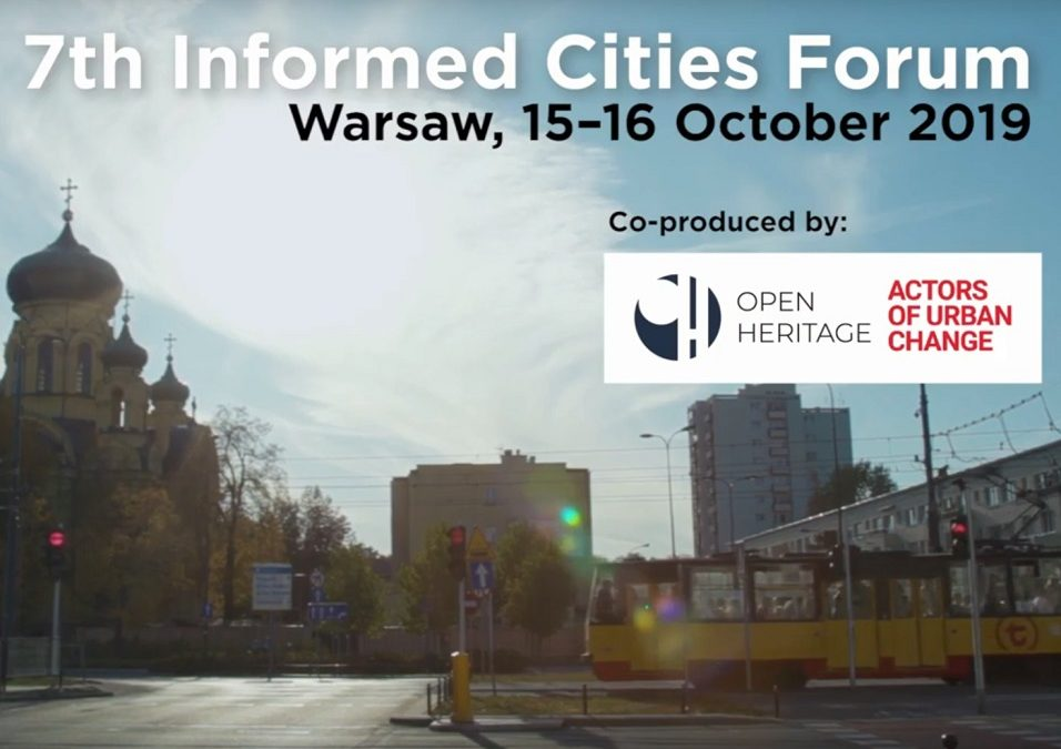 Informed Cities Forum: Heritage & Urban Regeneration in Praga and Beyond