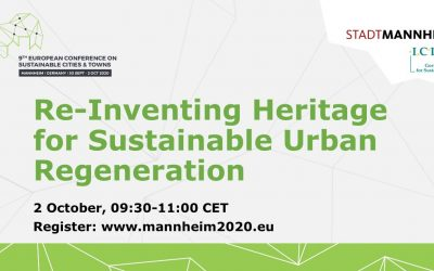 Re-Inventing Heritage for Sustainable Urban Regeneration: join our Mannheim2020 session