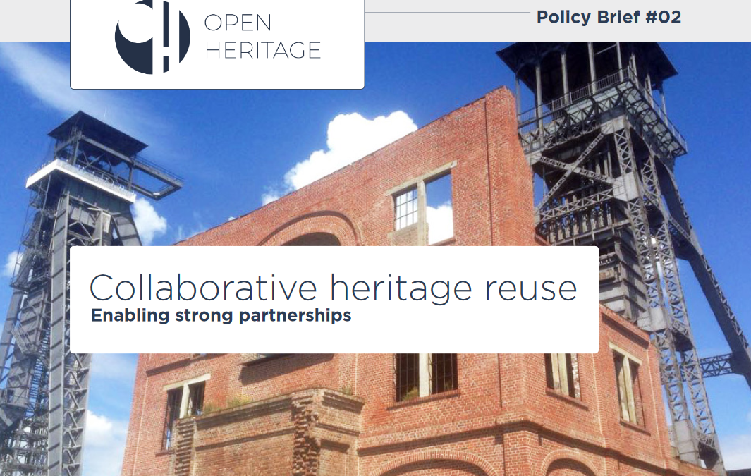 Now available: OpenHeritage Policy Brief #02 on enabling partnerships for adaptive heritage reuse