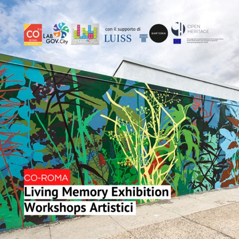 Co-designing artworks during the Living Memory Exhibition