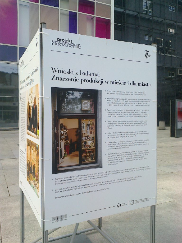 IN A WARSAW ATELIER – An exhibition in the city of Warsaw