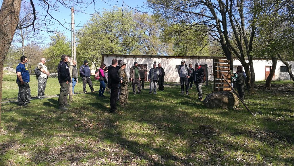 Establishing cooperation with the Community Archaeology Association
